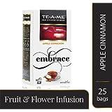 TE-A-ME Apple Cinnamon Infusion Tea Pack of 25 Tea Bags