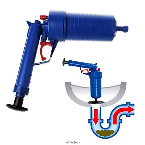 WXQDD dredge High Pressure Air Pump Drain Blaster Sink Plunger Bath Toilet Pipe Unblocker Blockage Remover Toilet Kitchen Cleaner Kit