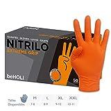 Guante Nitrilo Extreme Grip Naranja - (Talla XXL)