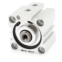 sourcingmap® SDA40x15 40mm x 15mm Singolo Rod Alluminio Lega Pneumatico Aria Cilindro