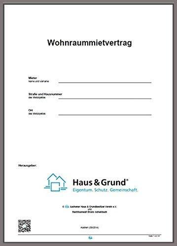 Mietvertrag für Wohnungen, Eigentumswohnungen und Einfamilienhäuser; Wohnraummietvertrag (11/2018)