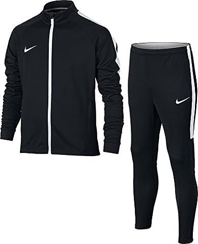 Nike Dry Academy Survêtement Mixte Enfant, Noir/Blanc/Blanc, FR : S (Taille Fabricant : S)