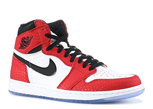 Nike Herren Air Jordan 1 Retro High Og Fitnessschuhe Mehrfarbig (Gym Red/Black/White/Photo Blue 602) 49.5 EU - Air Jordan 1