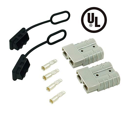 Connettore di batteria Connettore Anderson Batteria a Connessione Rapida 50A per Auto Furgone Modi Moto