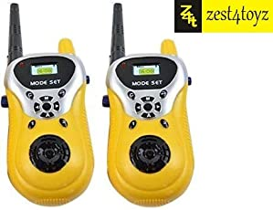 Zest 4 Toyz 2 Player Walkie Talkie Phone Toy