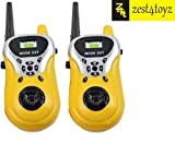 #9: Zest 4 Toyz 2 Player Walkie Talkie Phone Toy For Little Spy Kids