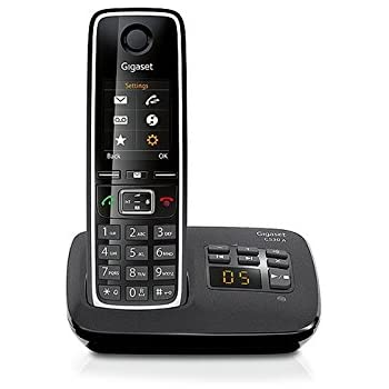 Gigaset C530A Téléphone Sans fil DECT/GAP Répondeur Noir