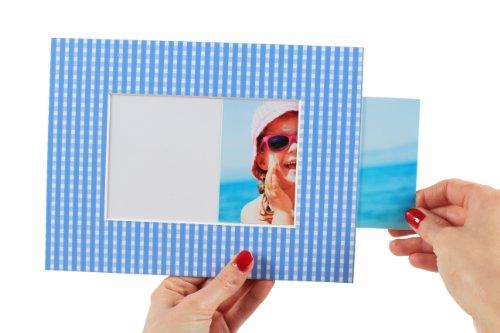 Einschub-Passepartout Aufsteller - Für Fotos, Bilder und Postkarten im Format 10x15cm