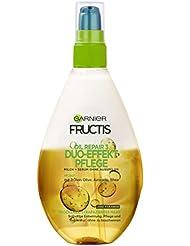Garnier Fructis Duo-Effekt Pflege Oil Repair Haarkur, Intensiv Haaröl zum Sprühen ohne Ausspülen (mit wertvollen Natur-Ölen – für trockenes, strapaziertes Haar) 1er Pack - 150 ml)