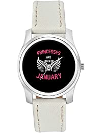 BigOwl Princesses Are Born In January | Birthday Gifts For Girls Fashion Watches For Girls - Awesome Gift For...