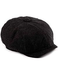 Houwo984 Cappello Regolabile per Berretto da Baseball Regolabile da Uomo in  Cotone a Spina di Pesce Cappellino… eca21b107309