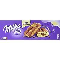 Milka Cake und Choc - Perfekte Kombination aus Kuchen und leckerer Alpenmilch Schokolade - Mini Kuchen einzeln verpackt - 16 x 175 g