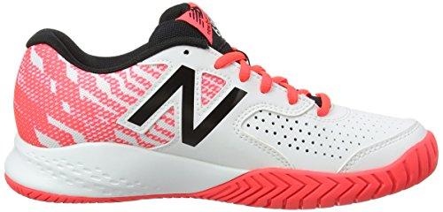 New Balance Wch696v3, Chaussures de Tennis Femme Bleu (Navy)