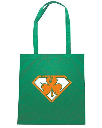 T-Shirtshock - Borsa Shopping TIR0213 super irish dark tshirt Verde