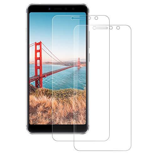 DOSNTO Protector de Pantalla Xiaomi Redmi S2, Xiaomi Redmi S2 Cristal Templado, [2 Piezas] 9H Dureza, Ultra-Transparente, Sin Burbujas,Resistente a Arañazos Vidrio Templado Screen Protector Redmi S2