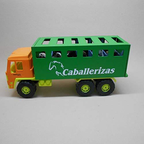 AMBIENTS ARTESANIA TAURINA CAMION DE Juguete para Transporte DE Caball