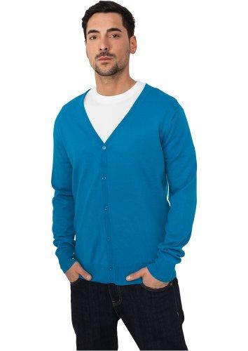 Preisvergleich Produktbild URBAN CLASSICS Herren Knitted Cardigan TB405 turpuoise XXL