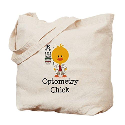 CafePress–Optometrie Chick augenoptikerin–Leinwand Natur Tasche, Reinigungstuch Einkaufstasche Tote S khaki