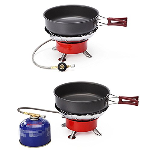 Miya System Ltd Camping Pans Pots,Miya Outdoor Household Ultralight Hiking Picnic Tableware Backpacking Pot Cooking Frying Pot Cookware For Tableware Pot Large Frying Pan