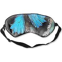 Weiche, bequeme Augenmaske, blau-schwarze 3D-Schlafmaske mit verstellbarem Riemen für Frauen, Männer, Augen, Schlafen... preisvergleich bei billige-tabletten.eu