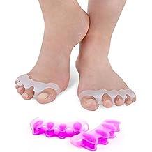 Vital Foot - Corrector Separador Dedos Pie Gel Silicona Podología Yoga ...