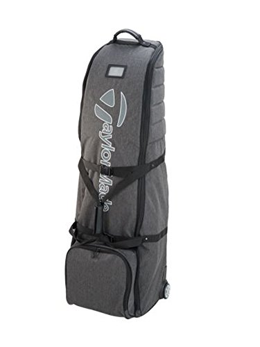 TaylorMade Golf 2018 Mens Classic Travel Cover Wheeled Flight Bag Grey/Black