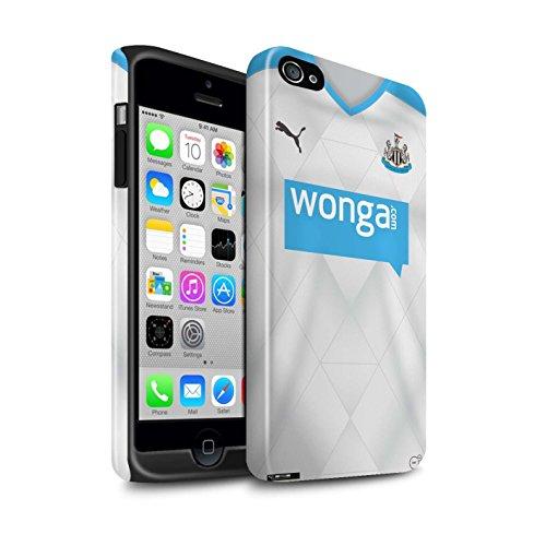 Offiziell Newcastle United FC Hülle / Glanz Harten Stoßfest Case für Apple iPhone 4/4S / Pack 29pcs Muster / NUFC Trikot Away 15/16 Kollektion Fußballer