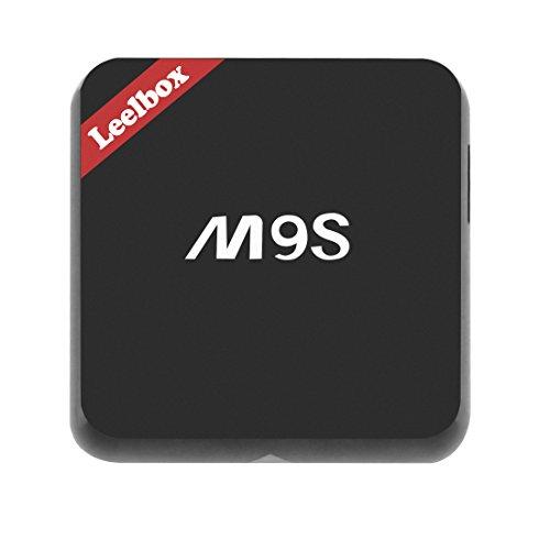 2016 Neuste Modell M9S Android TV BOX 2GB RAM 16GB ROM Amlogic S812 Quad Core AP6330 Dual Wi-Fi unterstützt 802.11n Neuste Version KODI 16.1 Android 5.1 Vorinstallierte Plugins Updated Von Leelbox Q1 M8S