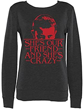 Womens Shes Our Friend Eleven
