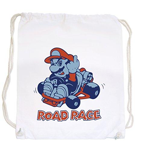 Preisvergleich Produktbild Certified Freak Road Rage Gymsack White