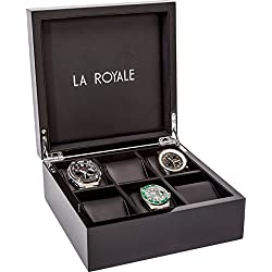 La Royale Felice Black Watch Box