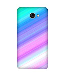 Multi Stripes Printed Back Cover Case For Samsung Galaxy A9