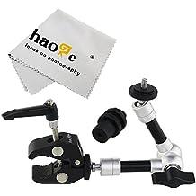 haoge 7pulgadas Friction Magic brazo articulado con pequeño abrazadera cangrejo alicates clip para HDMI monitor LCD luz LED cámara de vídeo DSLR trípode