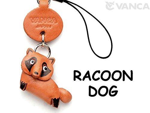 Waschbär Dog Leder Animal Mobile/Handy Charme Vanca Windhund Cute Maskottchen Made in Japan
