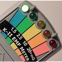 Détecteur K-II EMF avec interrupteur on/off pour chasse aux fantômes