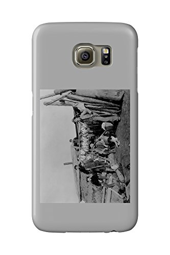 klondike-men-after-hunting-ptarmigan-in-nome-photograph-galaxy-s6-cell-phone-case-slim-barely-there