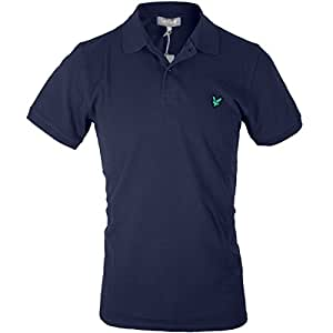 Lyle & Scott Club Pique Short Sleeved Polo Shirt - New Navy, Small