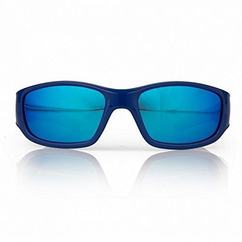 Gill Squad Kinder Jugend Junior Schwimmen Wassersport Strand Bootfahren Yachting oder Surf Sonnenbrille Blau - Polarisierte Brillentechnologie