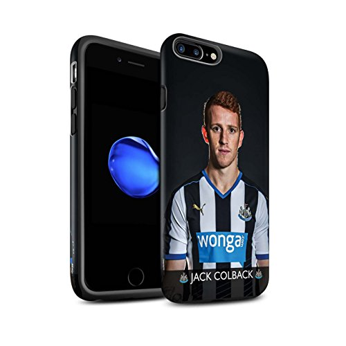 Offiziell Newcastle United FC Hülle / Matte Harten Stoßfest Case für Apple iPhone 7 Plus / Ayoze Muster / NUFC Fussballspieler 15/16 Kollektion Colback