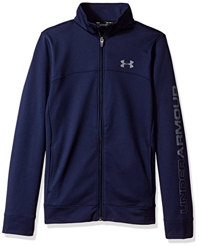 Under Armour Jungen Pennant Warm-Up Jacket Oberteil, Midnight Navy, M