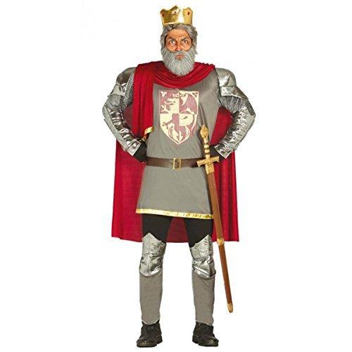 Disfraz de rey corazón de león para hombre - (Rey Personal Kostüm)