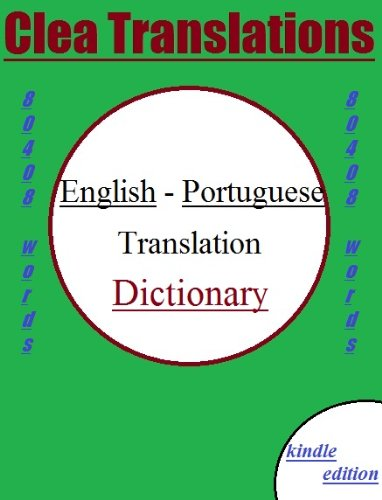 English To Portuguese Dictionary (Catalan Edition) por Clea Translations