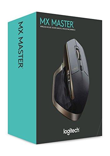 Logitech MX Master kabellose Maus für Windows/Mac mit Verbindungsmöglichkeiten (Bluetooth, Unifying) - 7