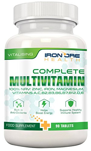 Iron Ore Health Complete Multivitamin - Pack of 90 Tablets