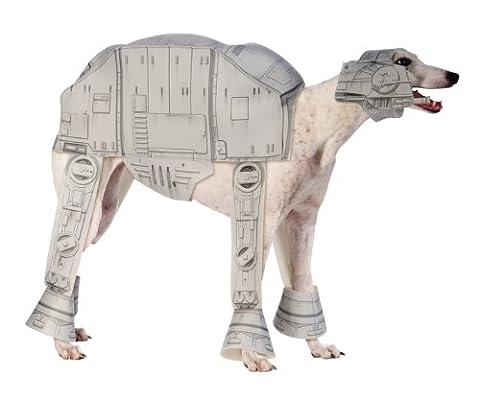 Disfraz de AT-AT Imperial Walker Star Wars para perro - L