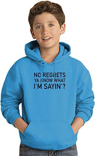 no-regrets-ya-know-what-im-sayin-slogan-kids-sweat-shirt-a-capuche-leger-lightweight-hoodie-for-kids
