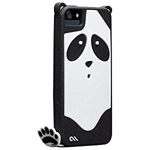 Casemate Animal Shaped Clip-On Case Cover with Footprint Charm for iPhone 5/5S/SE - Xing Panda