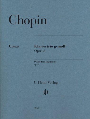 Klaviertrio g-moll op. 8