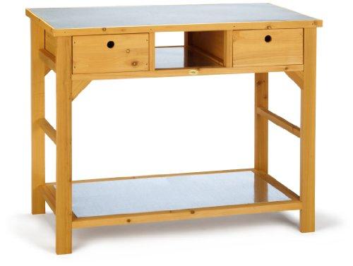 Habau 3107 Gartentisch Mit Schublade 110 X 55 X 99 Cm