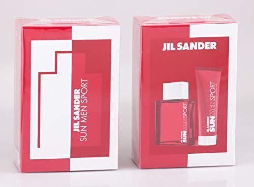 Jil Sander Sun Men Sport Set mit Fresh All Over Shampoo 75ml + 75ml